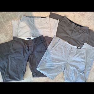 Lot of 4 Banana Republic dress pants
